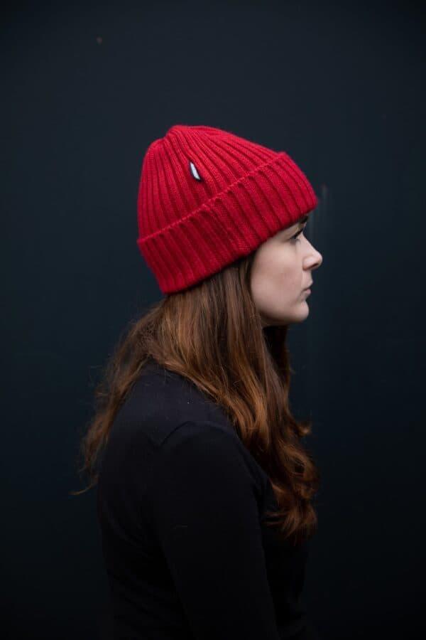 British Wool Chunky Knit Hats